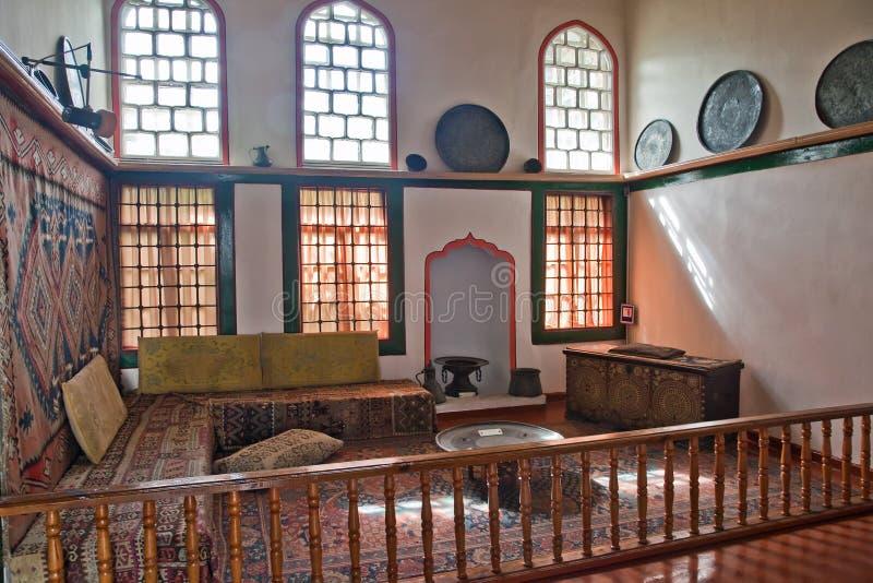 Palais de Bakhchisaray, femme demi, harem images stock