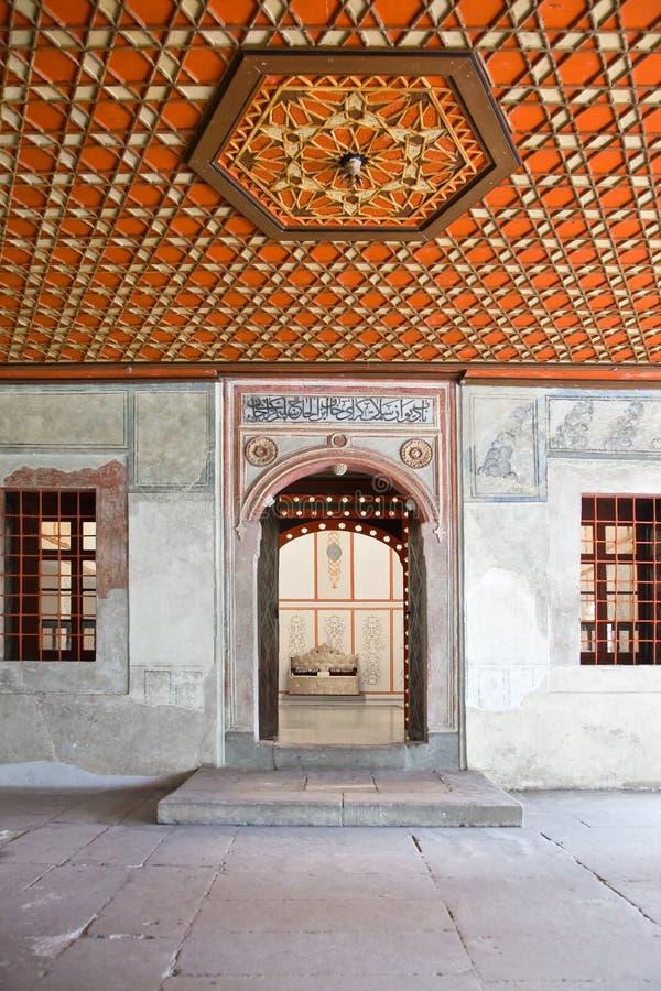 Palais de Bakhchisaray, intérieur photo stock
