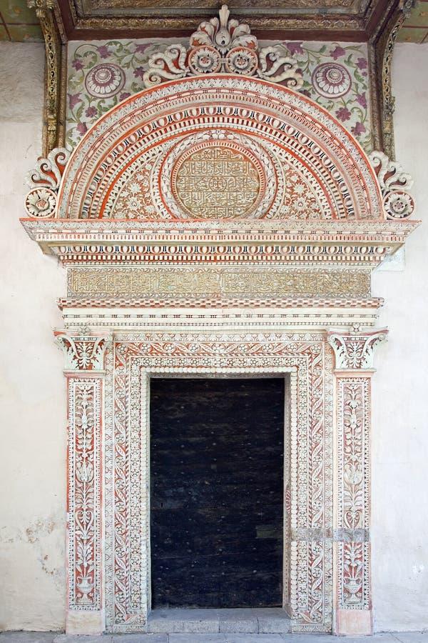 Palais de Bakhchisaray, intérieur image stock