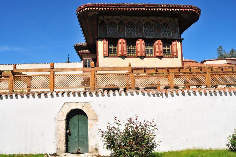 Palais de Bakhchisaray, le palais de Khan, Crimée Construit au XVIème siècle photographie stock