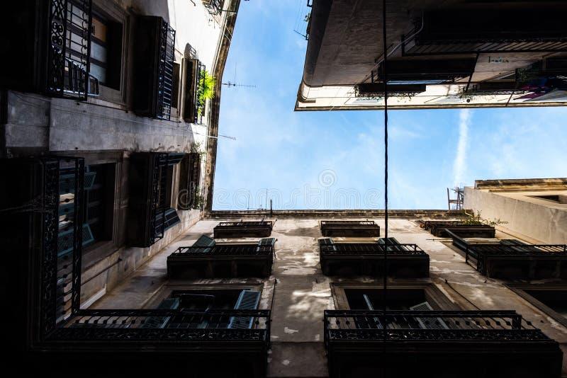 Palais de Barcelone du fond photo libre de droits