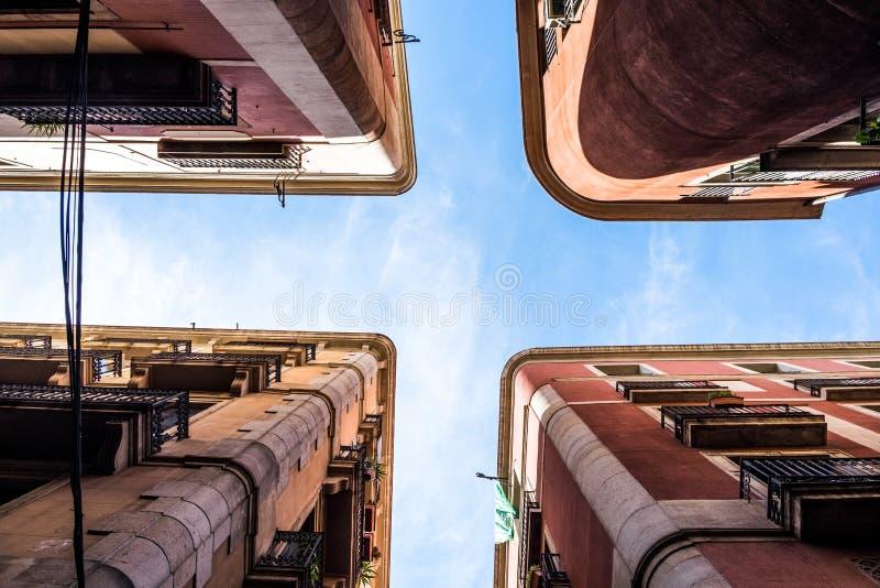 Palais de Barcelone du fond photos libres de droits
