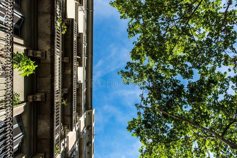 Palais de Barcelone du fond photographie stock libre de droits