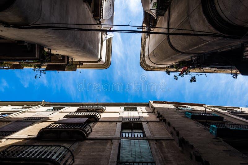 Palais de Barcelone du fond photos stock