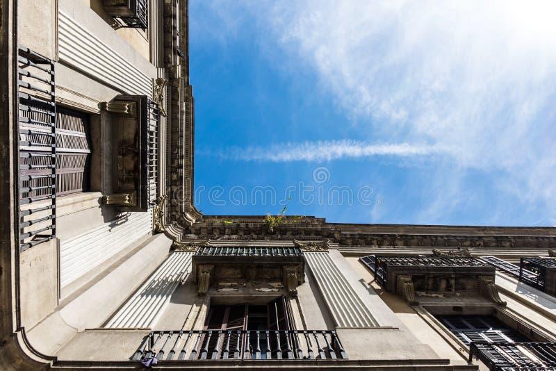 Palais de Barcelone du fond images stock