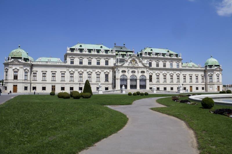 Palais de belvédère photos libres de droits