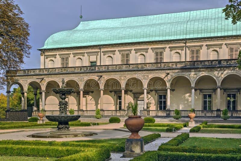 Palais de belvédère, royal ou de Reine Anne d'été, Prague images libres de droits