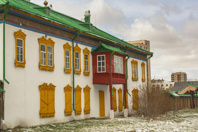 Palais de Bogdkhaan, palais d'hiver du Bogd Khan photo stock