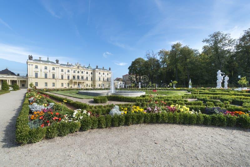 Palais de Branicki dans Bialystok, Pologne images libres de droits