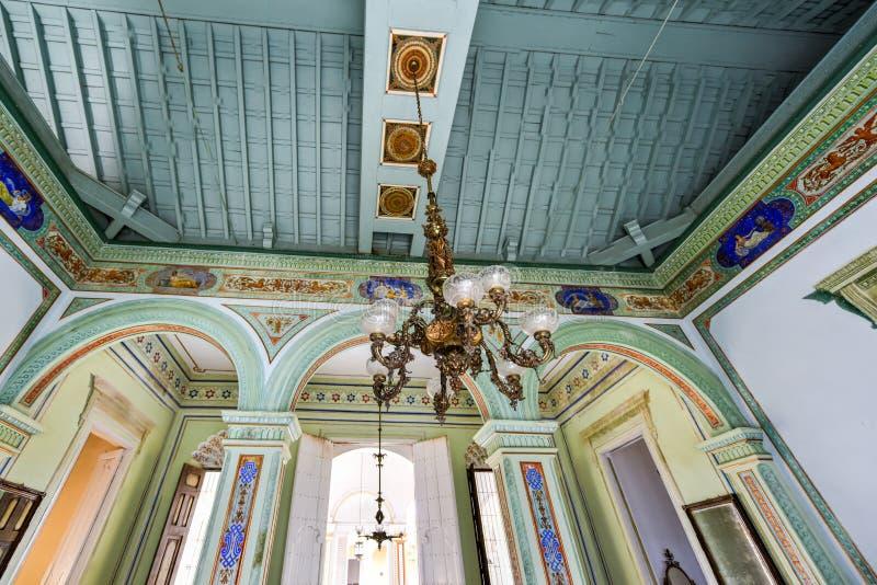 Palais de Cantero - Trinidad, Cuba image stock