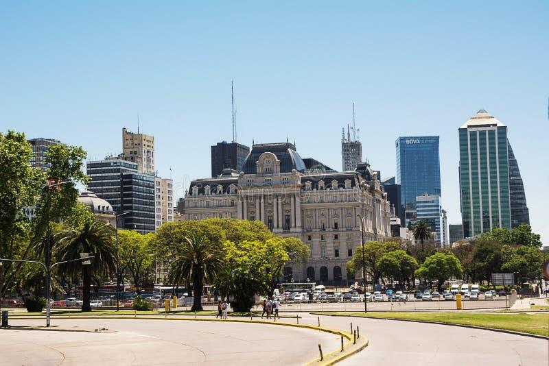 Palais de Centro Cultural Kirchner à Buenos Aires Argentine photos stock