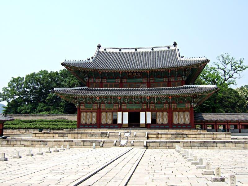 Palais De Changdeok - Corée Du Sud Images stock