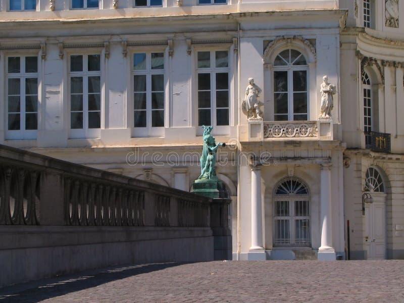 Palais de Charles de Lorraine. image stock