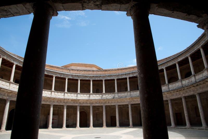 Palais de Charles V (Palacio de Carlos V) photos libres de droits