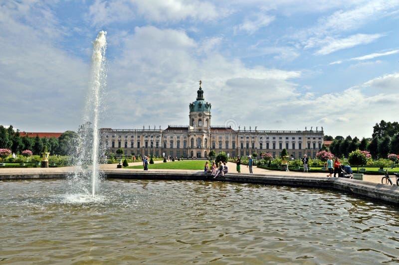 Palais de Charlottenburg photographie stock