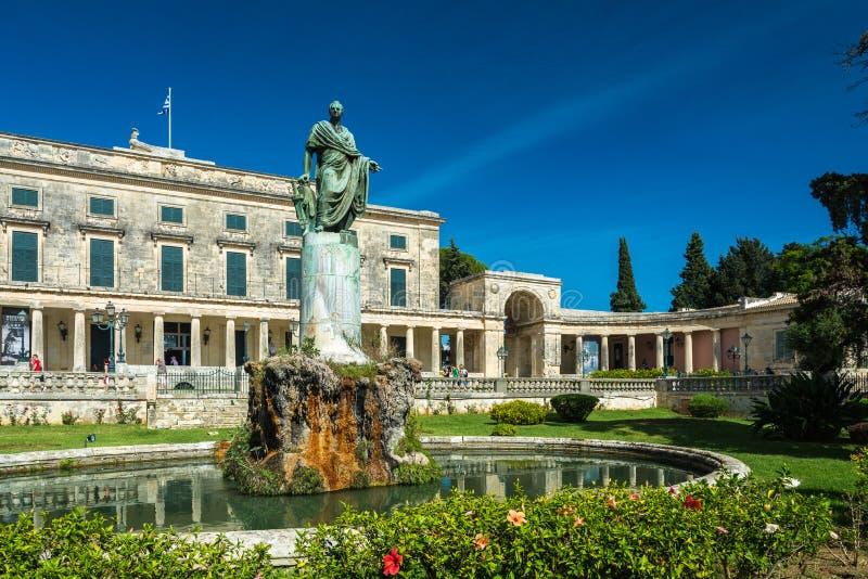 Palais de Corfou de St Michael et de George photographie stock libre de droits