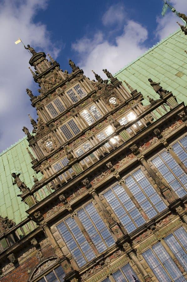 Palais de corporations à Brême image stock