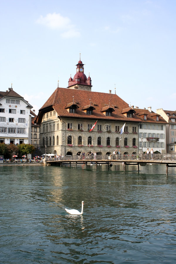 Palais de corporations à Lucerne photo libre de droits