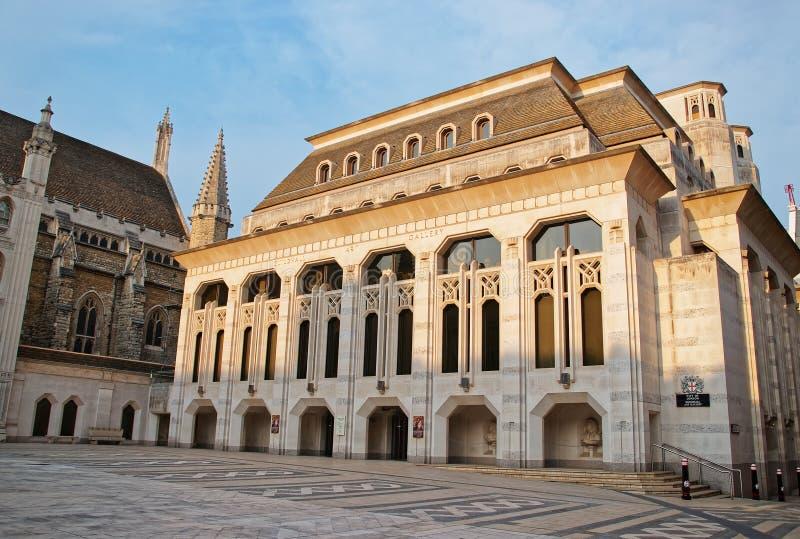 Palais de corporations Art Gallery dans la ville de Londres Angleterre photographie stock libre de droits