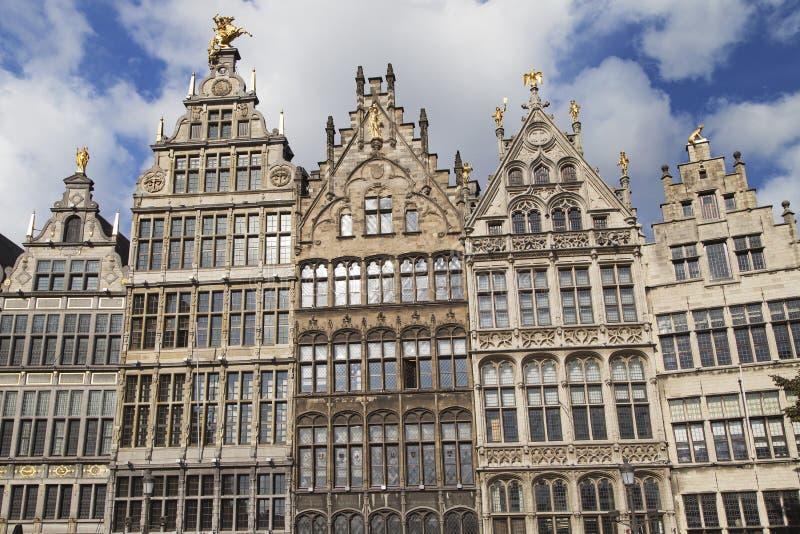Palais de corporations d'Anvers images libres de droits