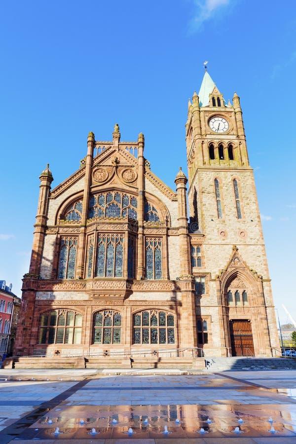Palais de corporations dans Derry images stock