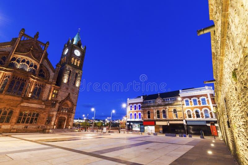 Palais de corporations dans Derry photos libres de droits