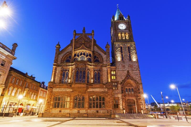Palais de corporations dans Derry photo stock