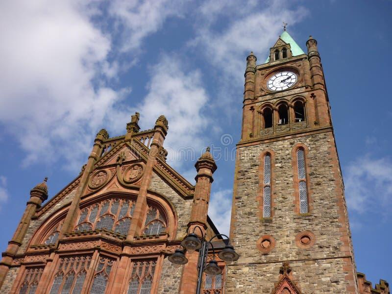 Palais de corporations de Derry photographie stock