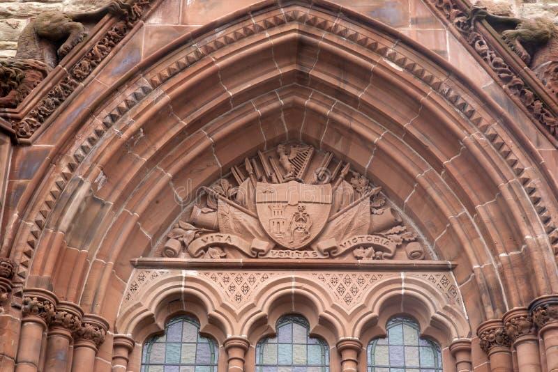 Palais de corporations, Derry - Londonderry photo libre de droits