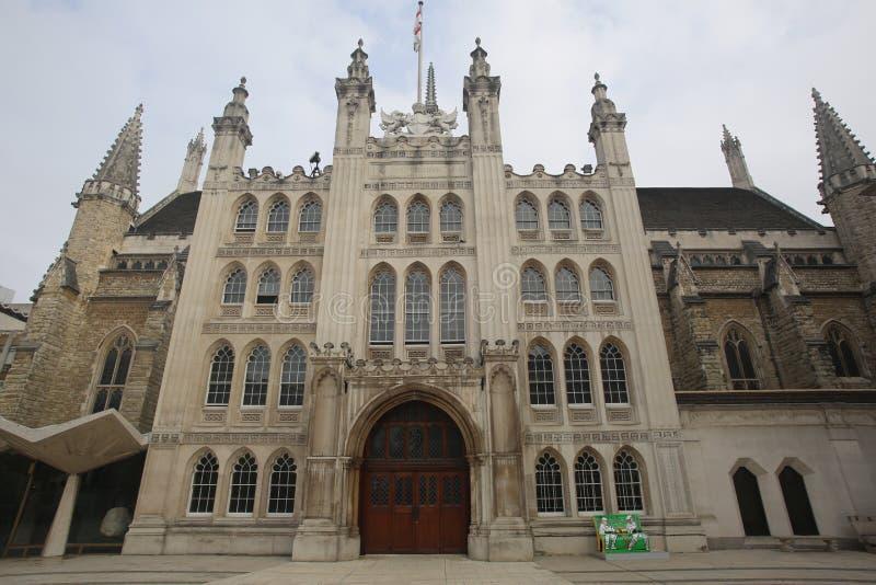 Palais de corporations, ville de Londres photos stock