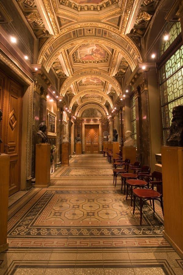 palais de couloir photographie stock libre de droits