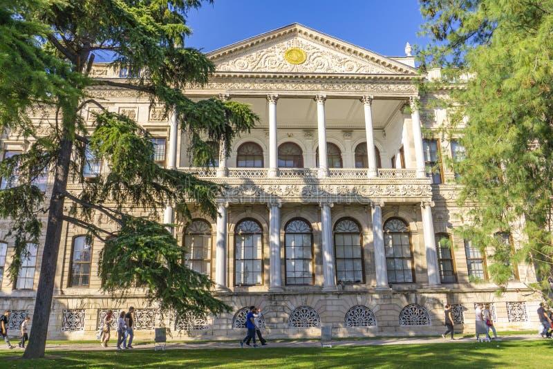 Palais de Dolmabahce à Istanbul, Turquie photo libre de droits