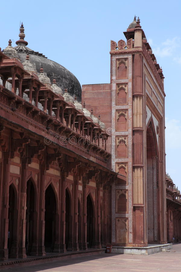 Palais de Fatehpur dans l'Inde photos libres de droits