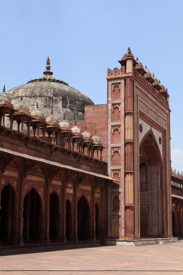 Palais de Fatehpur dans l'Inde image stock