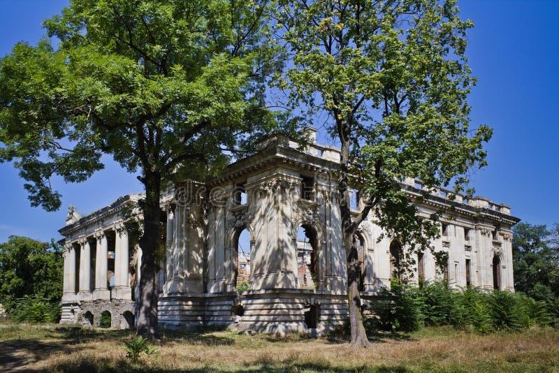 Palais de Floresti photographie stock libre de droits