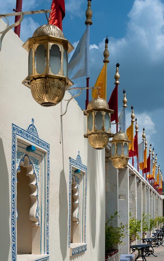 Palais de flottement, Udaipur, Inde images libres de droits