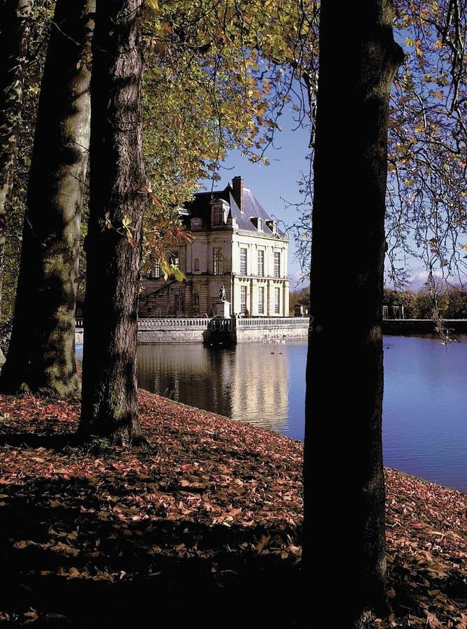 Palais de fontainebleu Paris France photographie stock libre de droits
