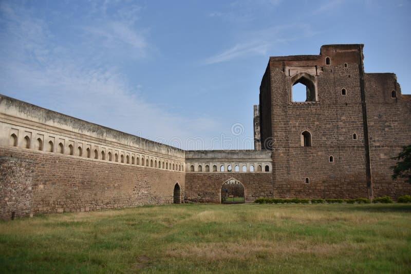 Palais de Gagan Mahal, Bijapur, Karnataka, Inde image stock