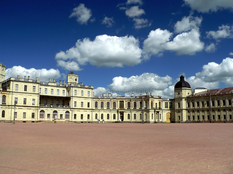 Palais de Gatchina photos stock