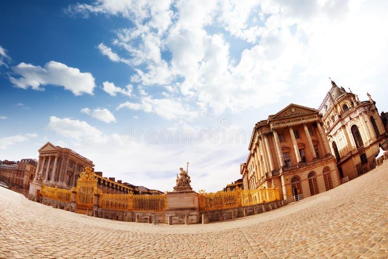 Palais de Golden Gate de Versailles en France photos libres de droits