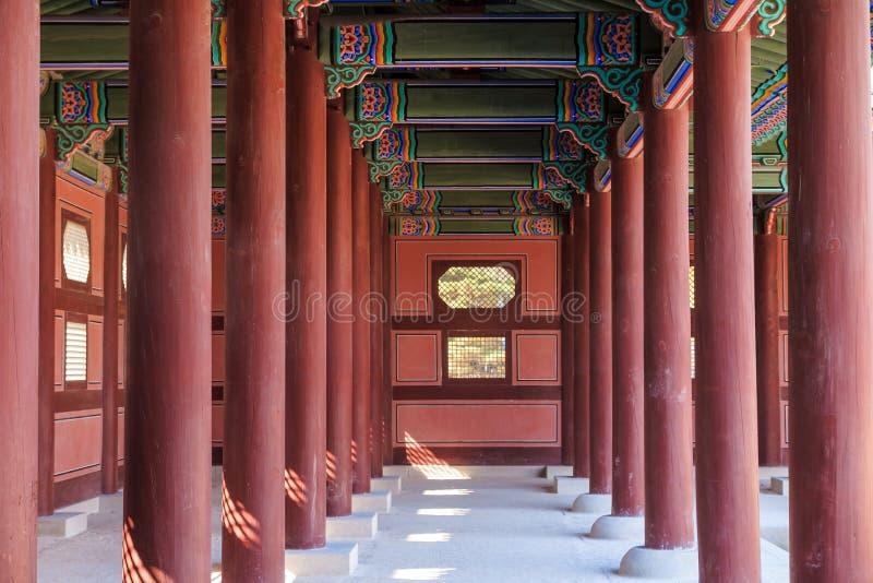 Download Palais De Gyeongbokgung à Séoul, Corée Photo stock - Image du assez, histoire: 56481824