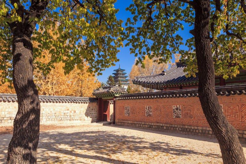 Download Palais De Gyeongbokgung à Séoul, Corée Photo stock - Image du antique, oriental: 56484496