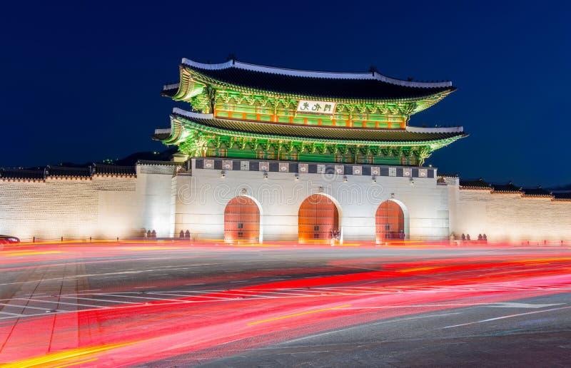 Palais de Gyeongbokgung à Séoul, Corée photographie stock