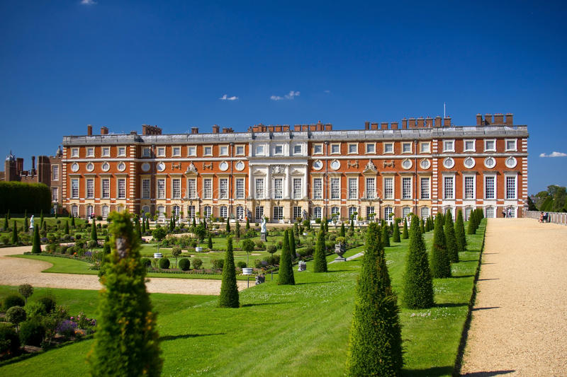 Palais de Hampton Court images stock
