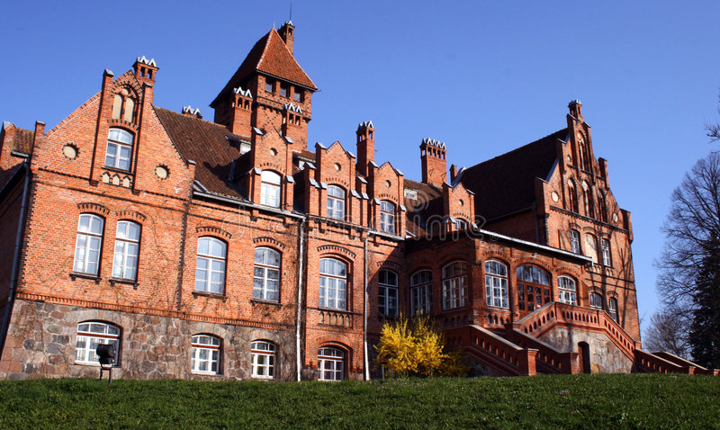 Palais de Jaunmoku images libres de droits