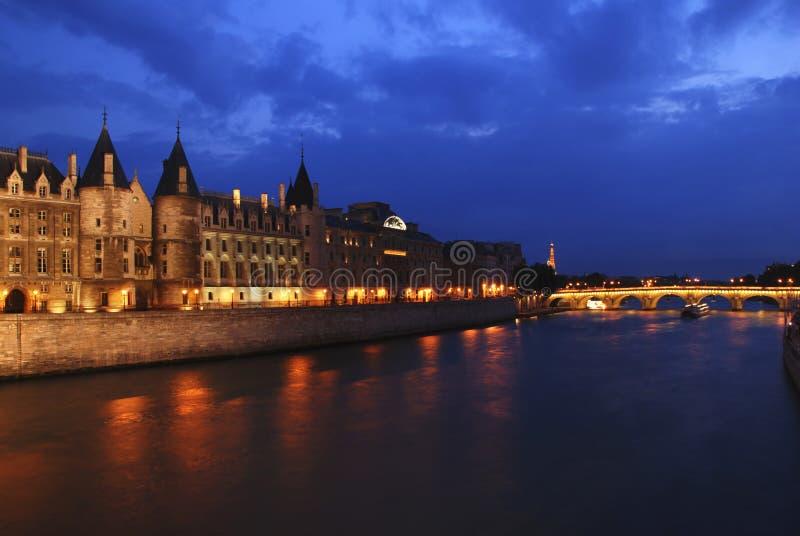 Download Palais de Justice stock photo. Image of european, evening - 18337596