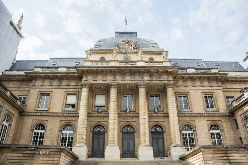 Palais de Justice photographie stock libre de droits