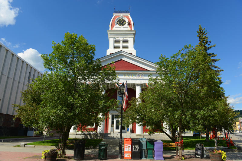 Palais de justice de Washington County, Montpellier, VT, Etats-Unis photo stock