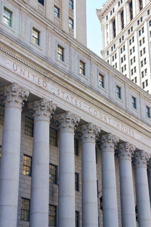 Palais de justice des Etats-Unis photographie stock