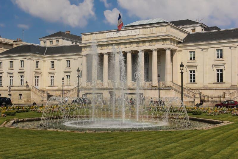 Palais de justice excursions france photographie stock libre de droits